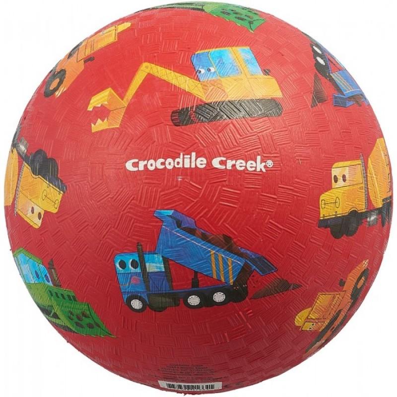 Crocodile Creek Мяч Маленький строитель 18 см