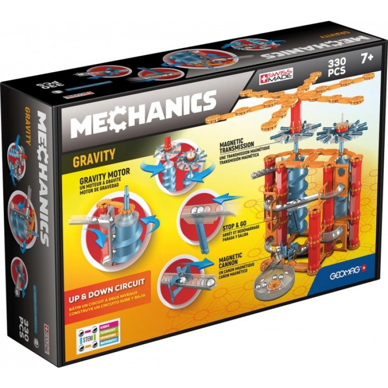 Конструктор Geomag Mechanics Gravity (330 деталей)
