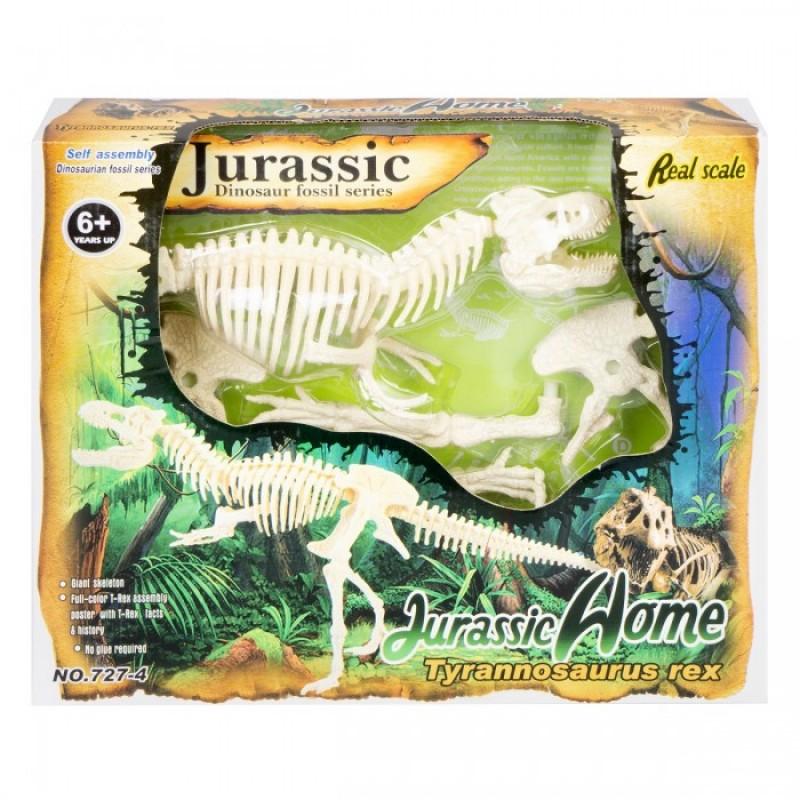 Ningbo Union Vision Набор для сборки скелета Тиранозавра Рекс 20х50х8 см