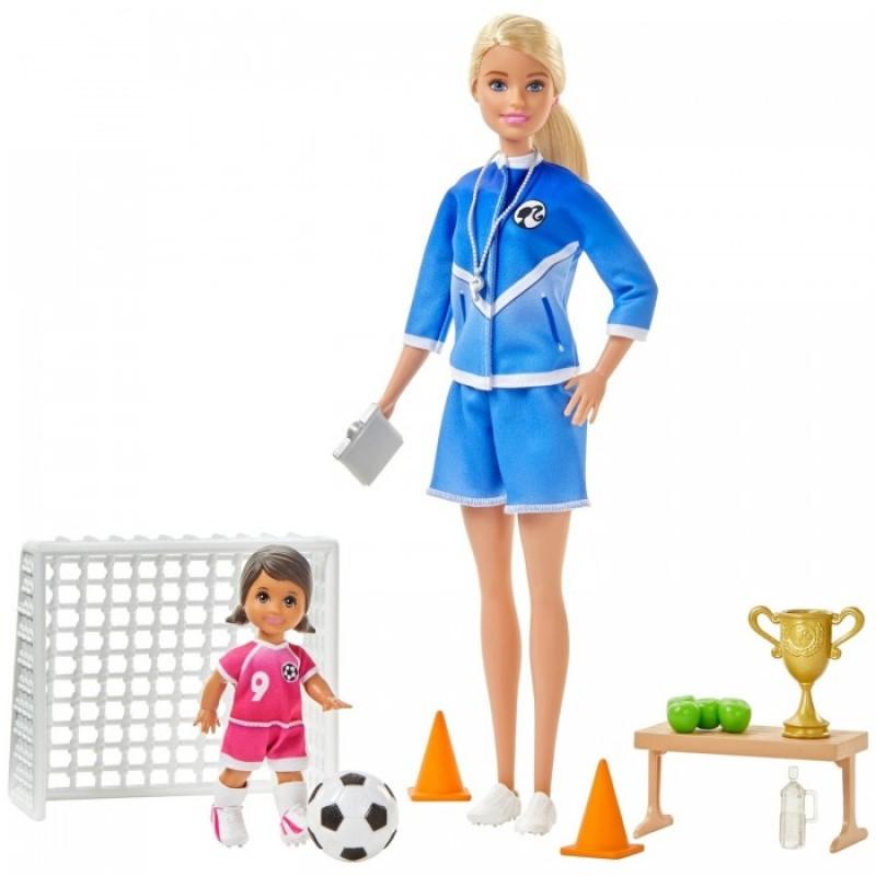 Barbie Игровой набор Футбольный тренер