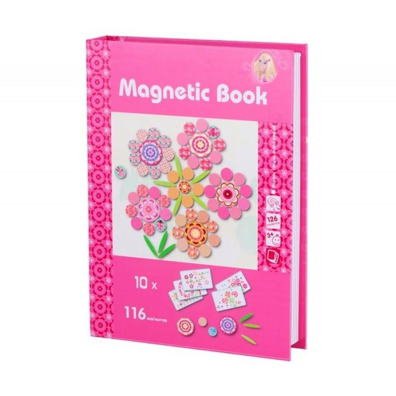 Развивающая игрушка Magnetic Book игра Фантазия 126 деталей
