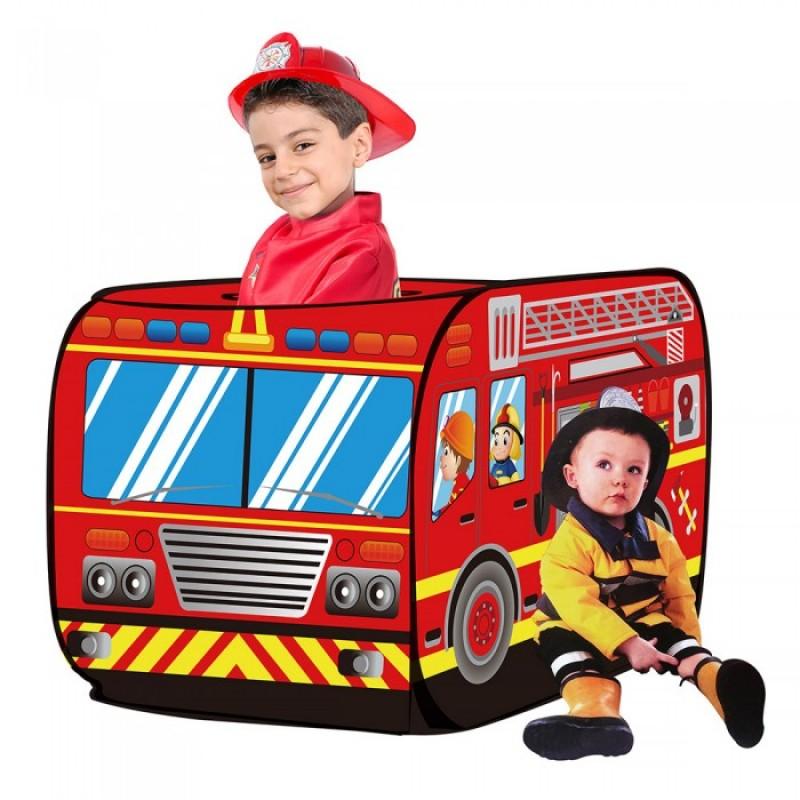 Pituso Дом Пожарный фургон + 50 шаров