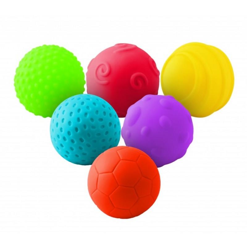 Развивающая игрушка Little Нero Набор рельефных мячиков