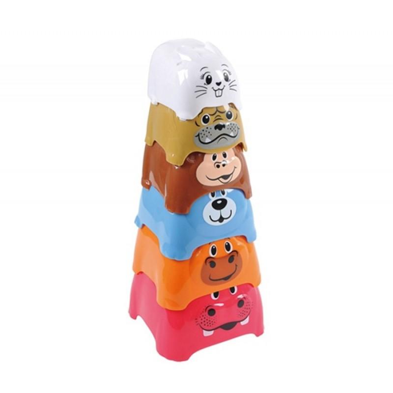 Развивающая игрушка Playgo Активный игровой центр Пирамида c животными