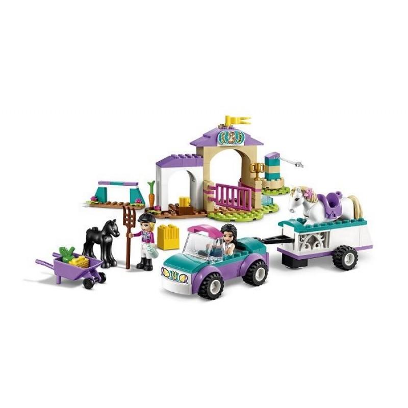 Конструктор Lego Friends Тренировка лошади и прицеп для перевозки