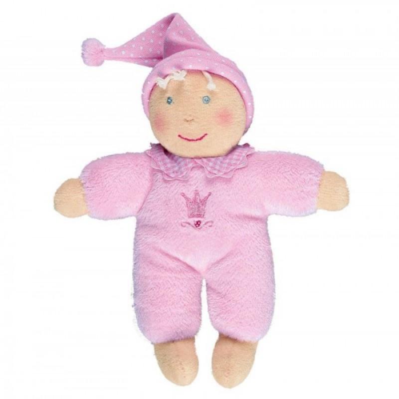 Spiegelburg Плюшевая Кукла  розовая Baby Gluck 93398