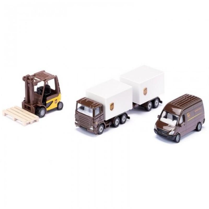 Siku Набор транспорта службы доставки UPS