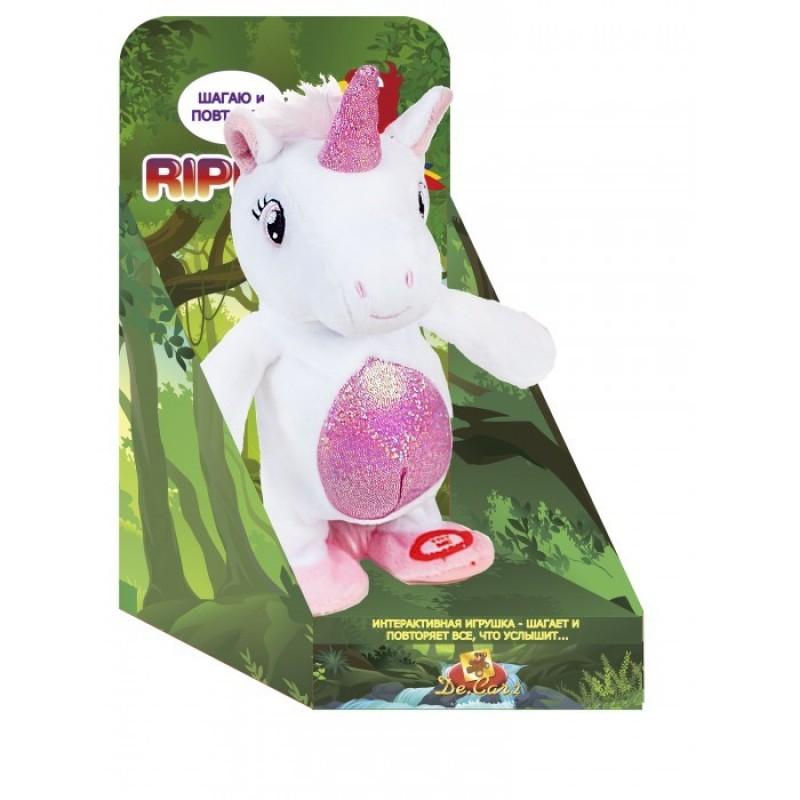 Интерактивная игрушка Ripetix Единорог белый «Шагаю и Повторяю»