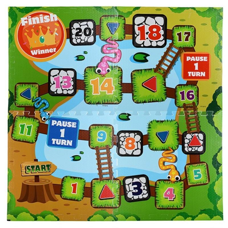 Игровой коврик Ural Toys пазл 61х61x1 см U049051Y