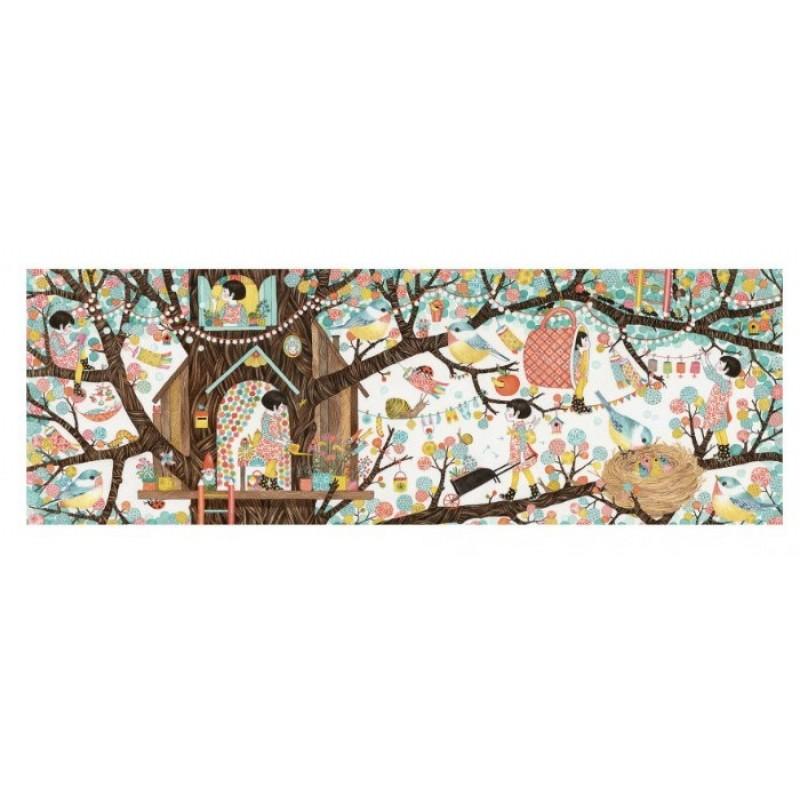 Djeco Пазл Дом на дереве (200 деталей)
