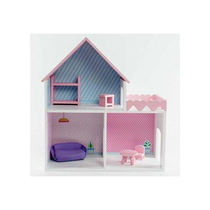Коняша Дом Пломбир с интерьером и мебелью