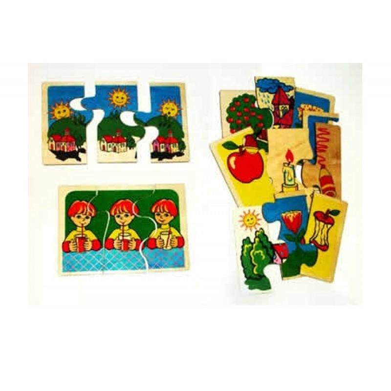 Деревянная игрушка Оксва Пазлы Последовательности