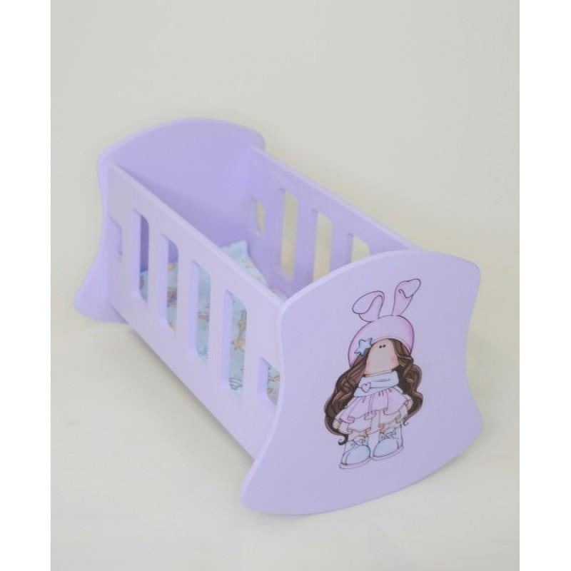 Кроватка для куклы Коняша Люлька Звездочка