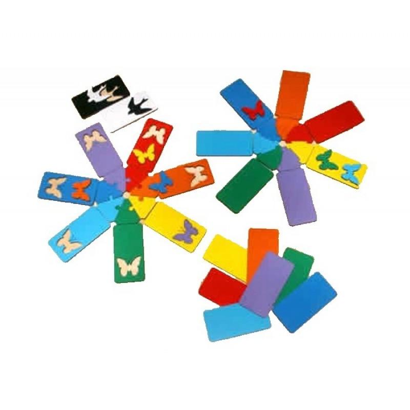 Деревянная игрушка Оксва Игра Семицветик