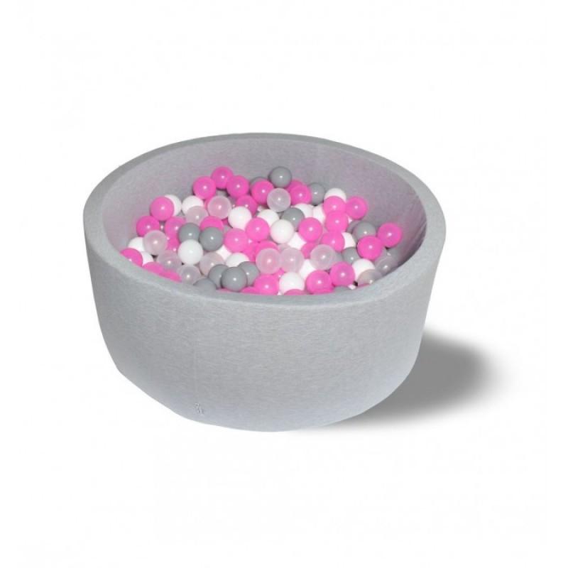 Hotenok Сухой бассейн Розовый праздник 40 см с комплектом шаров 200 шт.