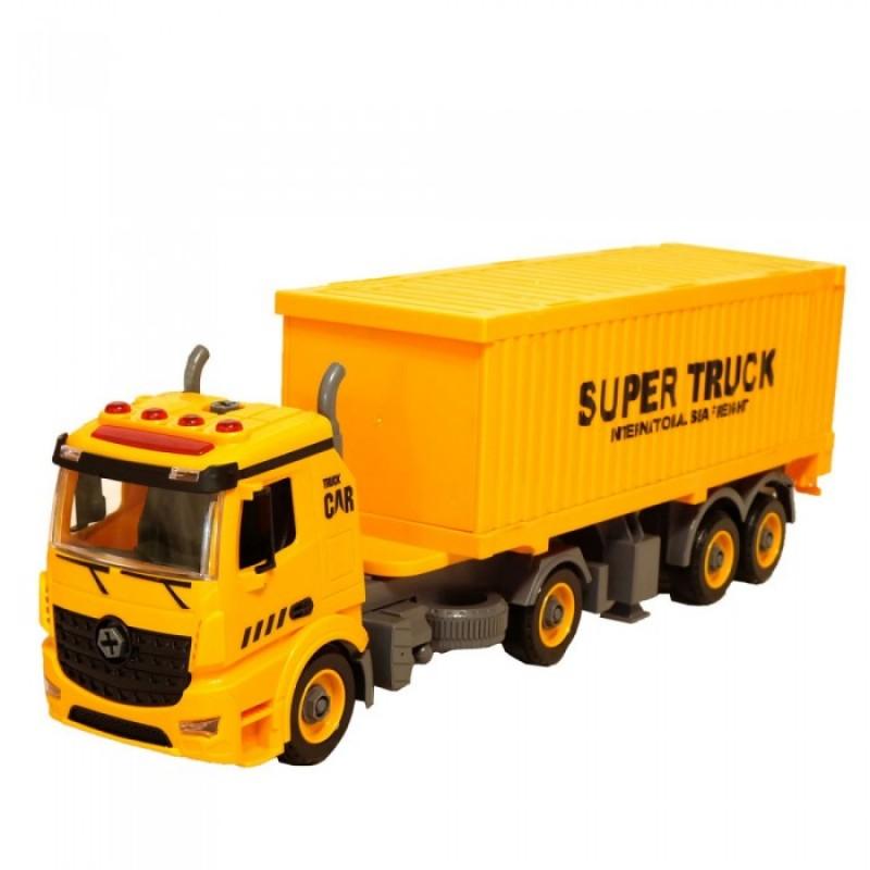 HK Industries  DIY инерционный грузовик для перевозки контейнеров