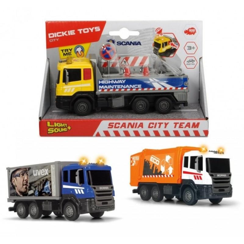 Dickie Городская техника Scania кабина die-cast 17 см