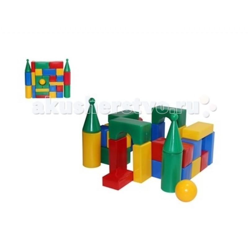 Развивающая игрушка СВСД Строительный набор Стена-смайл (27 элементов)