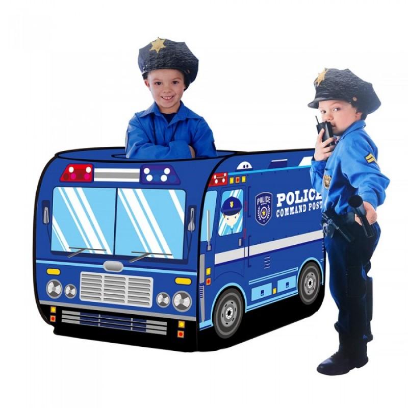 Pituso Дом Полицейский фургон + 50 шаров