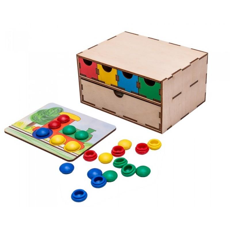 Развивающая игрушка Смайл Декор Волшебный комодик Книжные странички