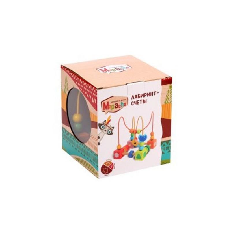 Деревянная игрушка Mapacha Лабиринт средний