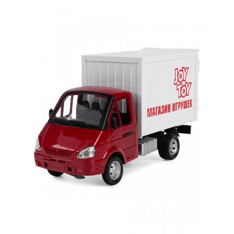 Play Smart Serinity Toys Машинка со звуком и светом Грузовой фургон Магазин игрушек