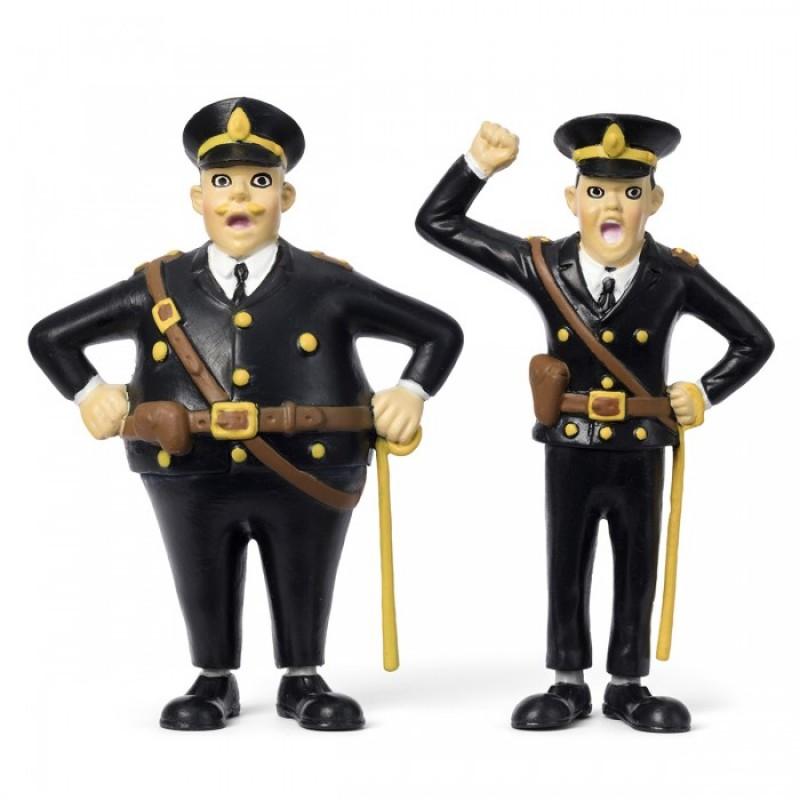 Micki Набор кукол для домика Пеппи Полицейские