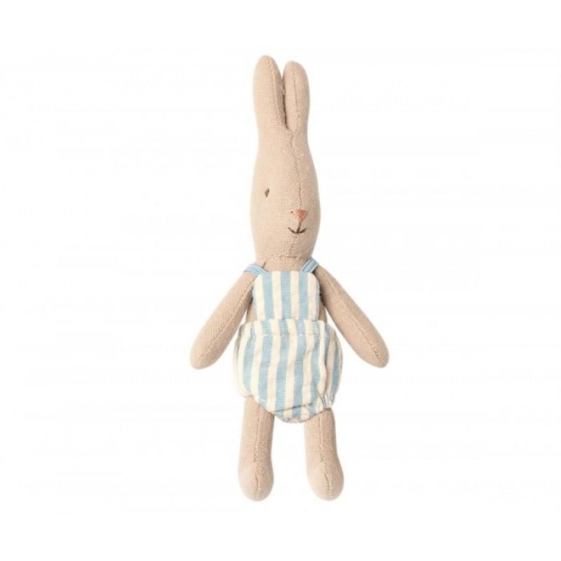 Мягкая игрушка Maileg Кролик Микро мальчик