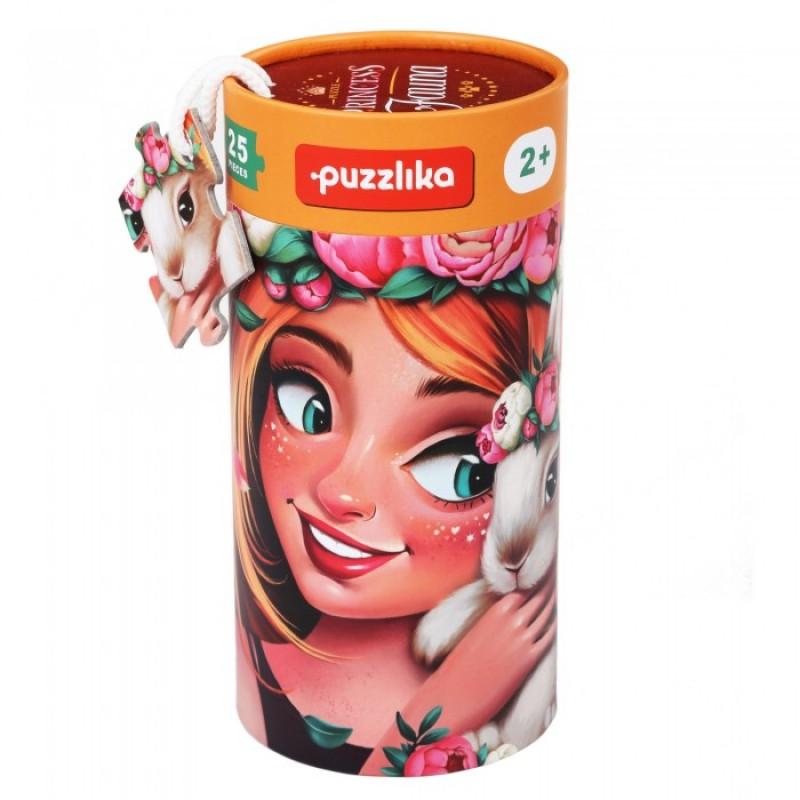 Puzzlika Пазлы Принцесса Животных 25 деталей