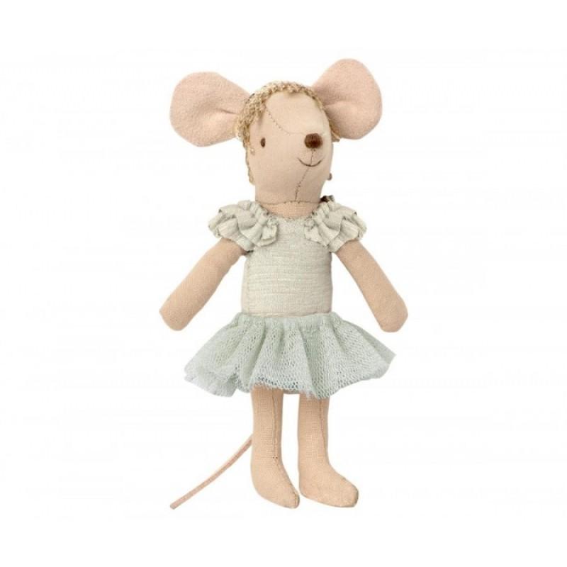 Мягкая игрушка Maileg Мышка старшая сестра Балерина Лебединое озеро 13 см