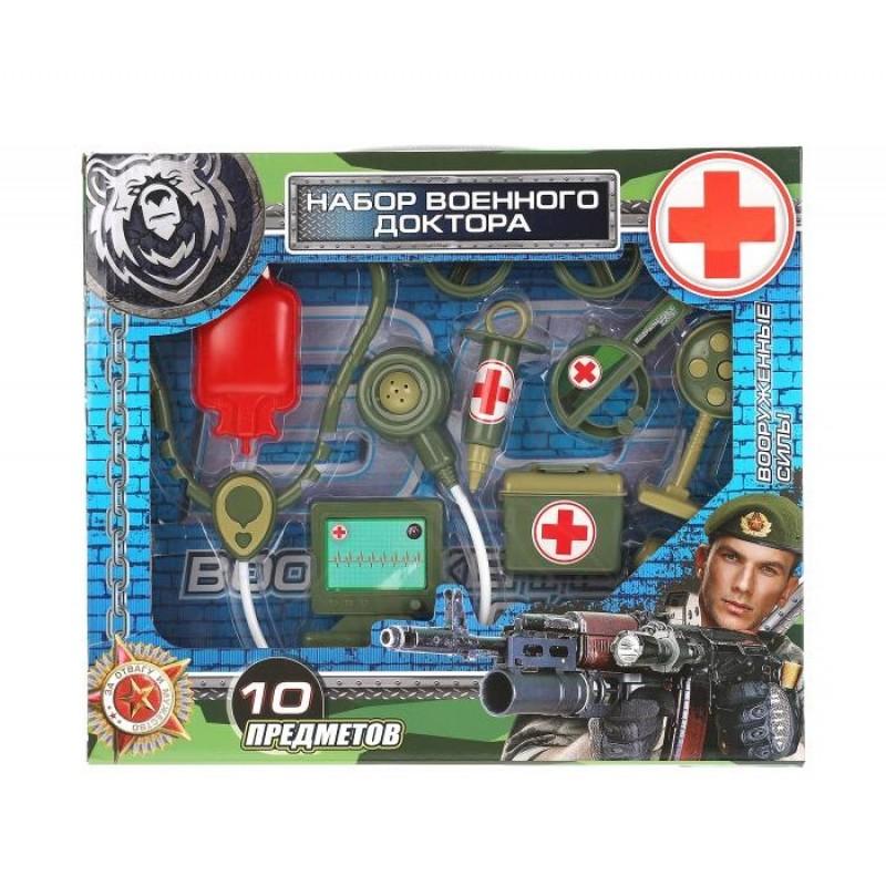 Играем вместе Набор доктора Военный 2004U065-R