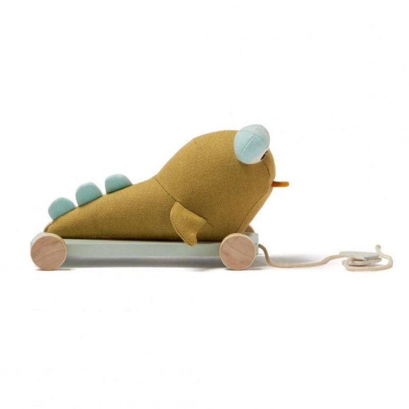 Каталка-игрушка Kid's Concept Neo на колесах на веревочке Отто Илистый прыгун
