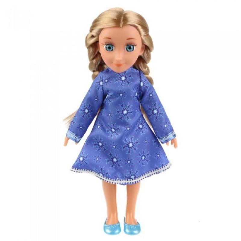 Карапуз Кукла Снежная королева Герда 32 см