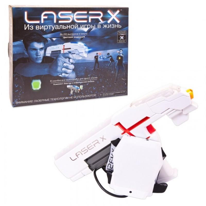 LaserX Набор игровой (1 бластер, 1 мишень)