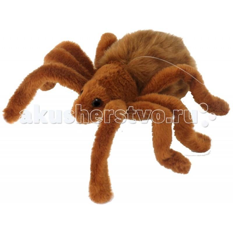 Мягкая игрушка Hansa Тарантул коричневый 19 см