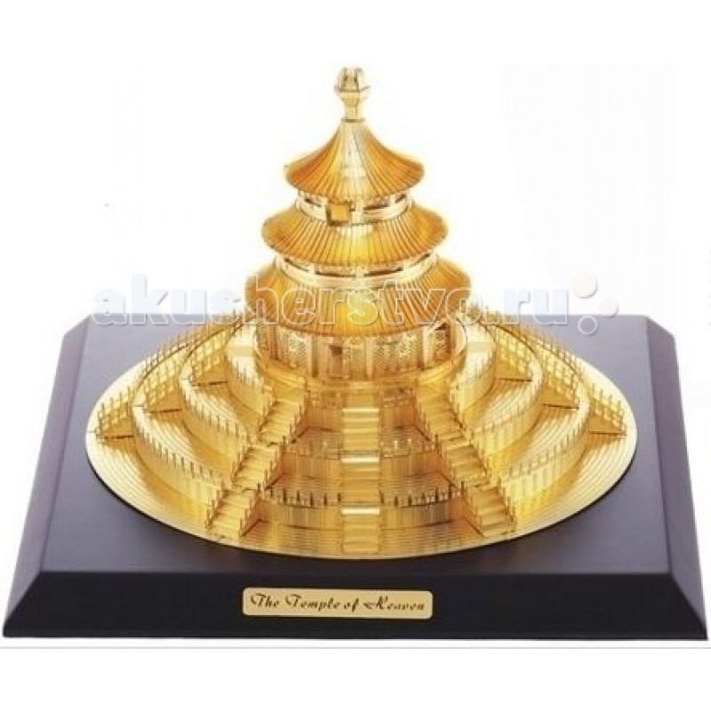 Конструктор Tucool 3D паззл из металла Храм Неба