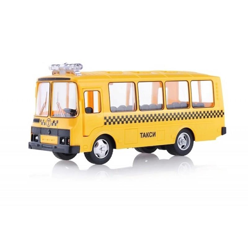 Serinity Toys Инерционная машинка Автобус Паз Такси