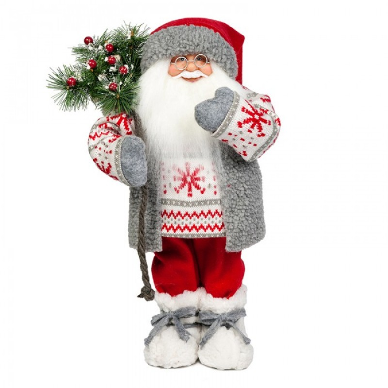 Maxitoys Дед Мороз в Свитере со Снежинкой