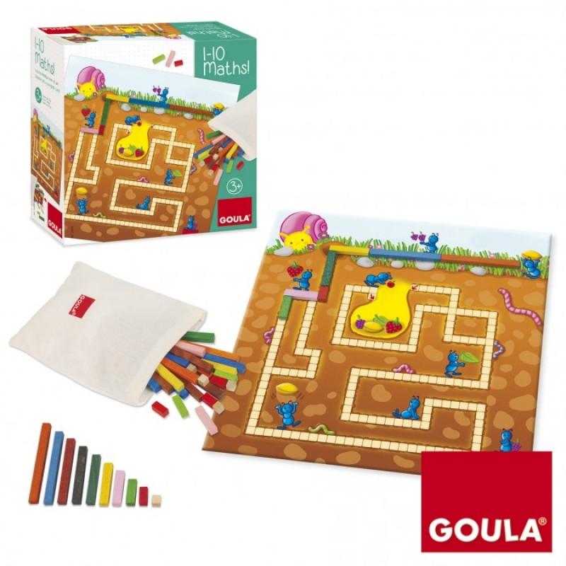 Деревянная игрушка Goula Развивающая игра Математика