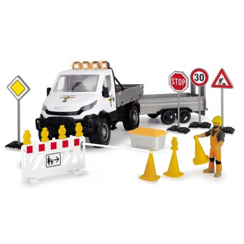 Dickie Playlife Набор Ремонт дороги с дорожными знаками (19 предметов)