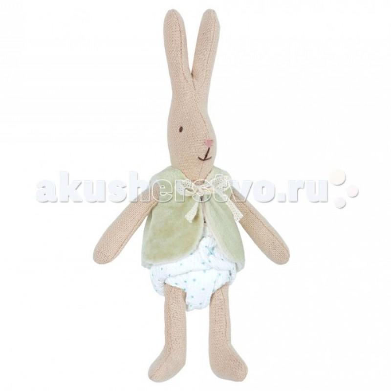 Мягкая игрушка Maileg Кролик в жилетке Микро