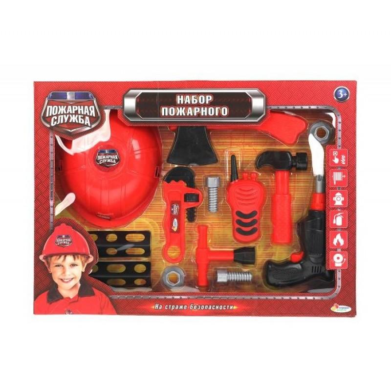 Играем вместе Набор пожарного с каской