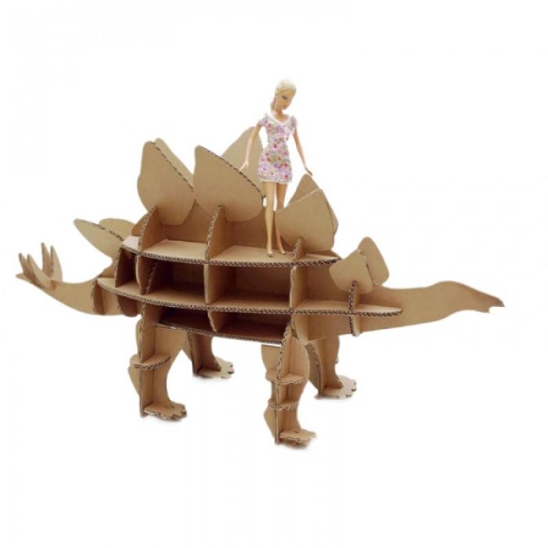 Картонный папа Набор игровой из картона Домашний динозавр: Стегозавр