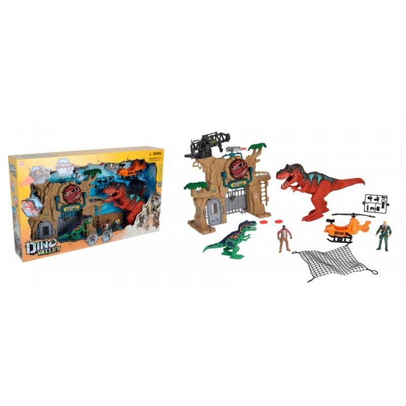Chap Mei Игровой набор Охота на динозавров Штурм ворот