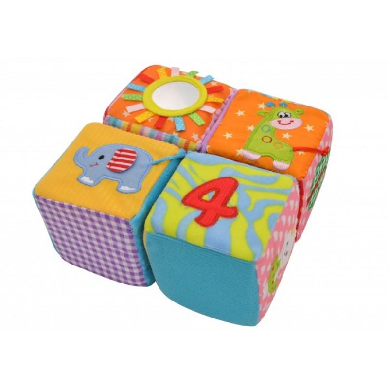 Развивающая игрушка Forest kids Мягкие кубики