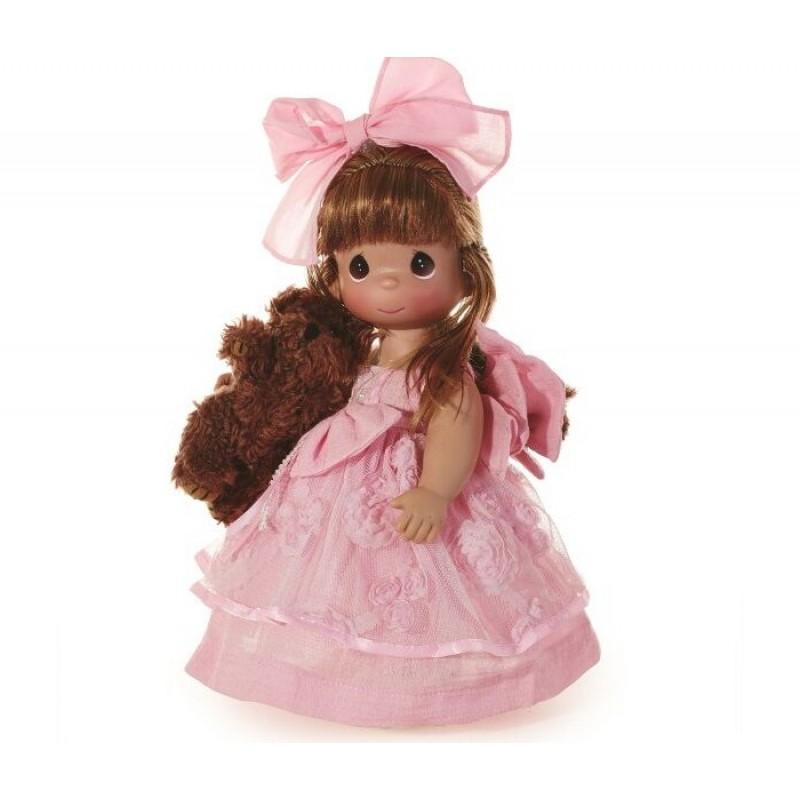 Precious Кукла Сны о плюшевом медведе рыжая 30 см