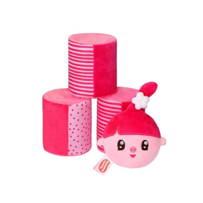 Мягкая игрушка Мякиши Малышарики Городки с Нюшенькой