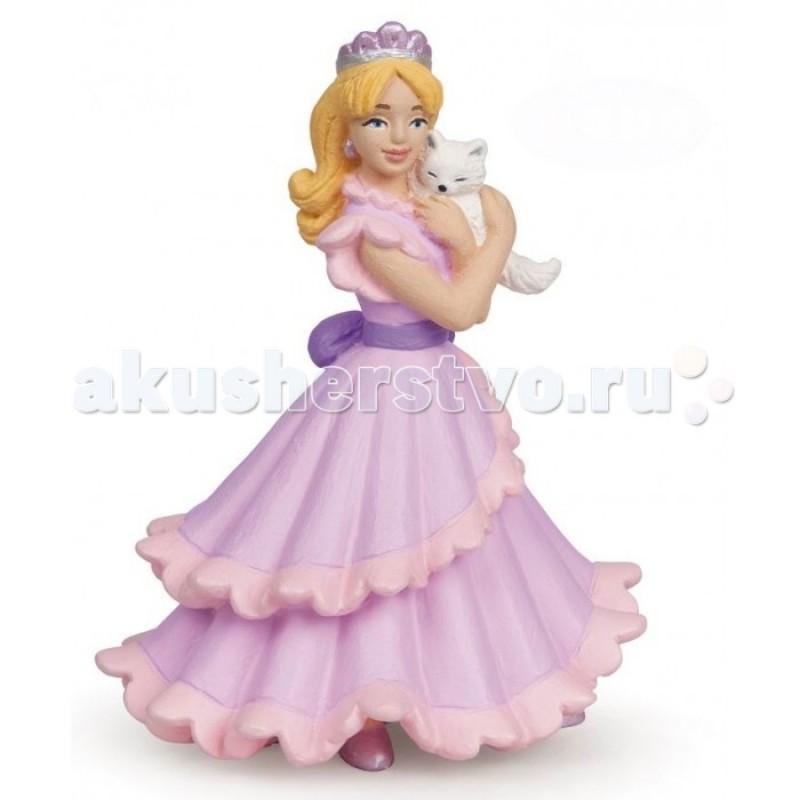 Papo Игровая реалистичная фигурка Принцесса с кошкой
