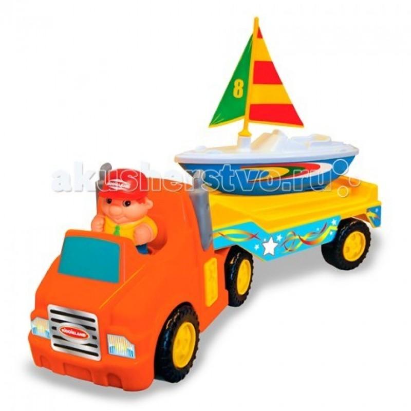Kiddieland Трейлер с яхтой без мотора
