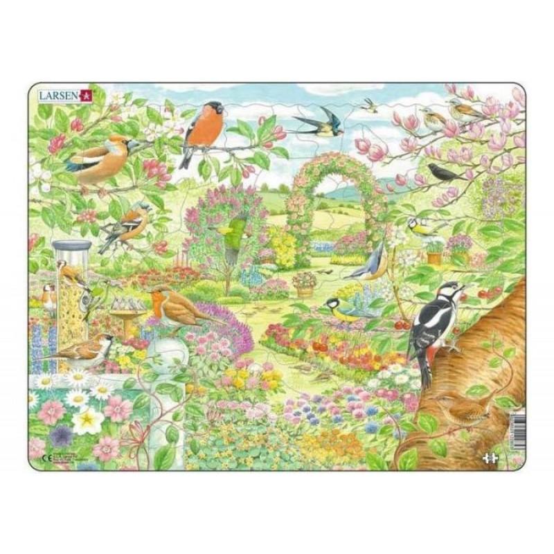 Larsen Пазл Птицы в саду